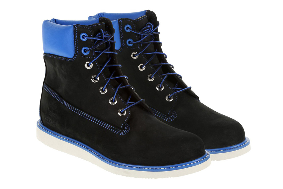 blue and black timberlands